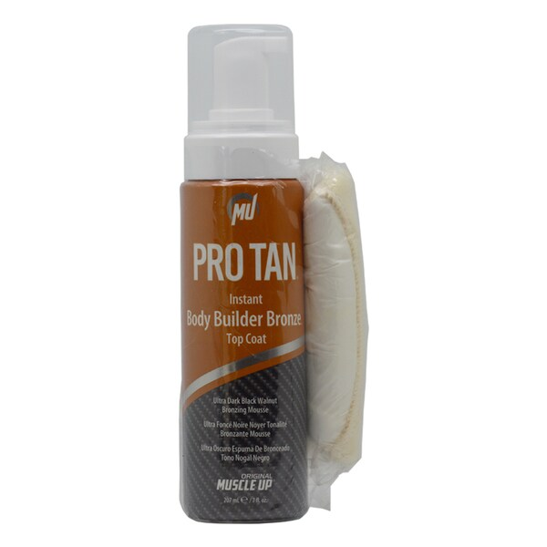 Pro Tan Instant Body Builder 7-ounce Bronze Top Coat With Hand Mitt