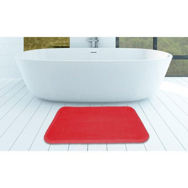 Medium Sized Ultra Soft Memory Foam Comfort Bath Mat