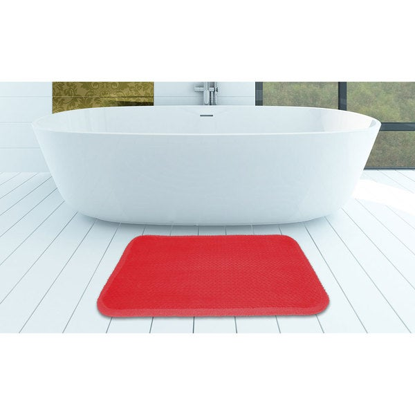 Large Sized Ultra Soft Memory Foam Comfort Bath Mat
