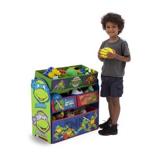Nickelodeon Teenage Mutant Ninja Turtles Multi-bin Toy Organizer