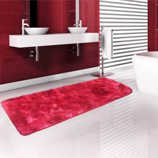 Large Ultra Soft Memory Foam 2'x5' Non-Slip Plush Lightweight Bath Mat