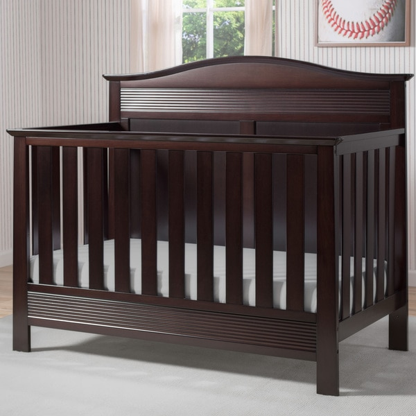 Serta Barrett Dark Chocolate 4-in-1 Convertible Crib