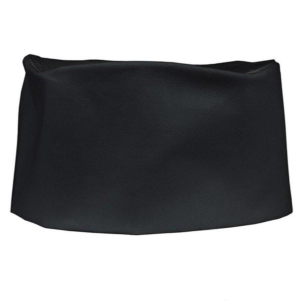 Black Denim Adjustable Chef's Cap