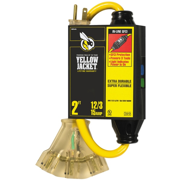 Yellow Jacket 02816 Yellow Jacket with Ground Fault Circuit Interrupters