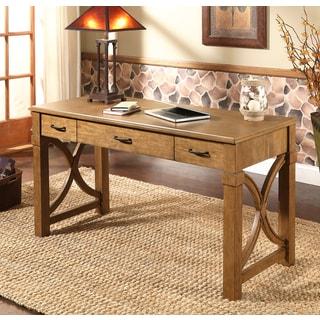 ABBYSON LIVING Harbor Espresso Pine Writing Desk