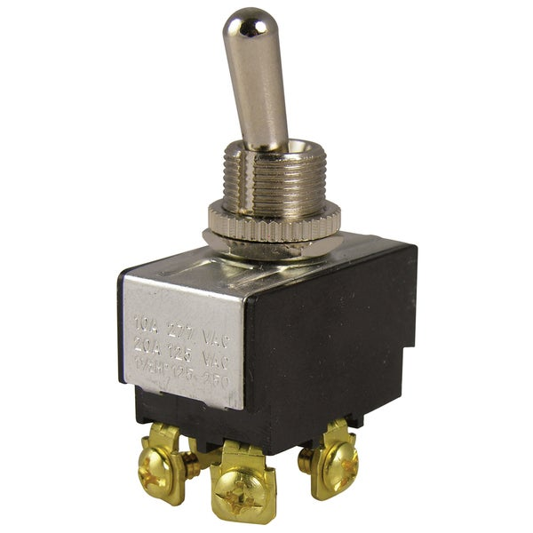 GB Gardner Bender GSW-14 DPST 20A 125VAC O/F Heavy Duty Toggle Switch