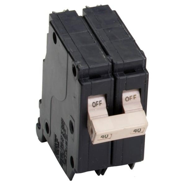 "Eaton CHF240CS 1-1/2"" 40 Amp Cutler Hammer Double Pole Circuit Breaker"
