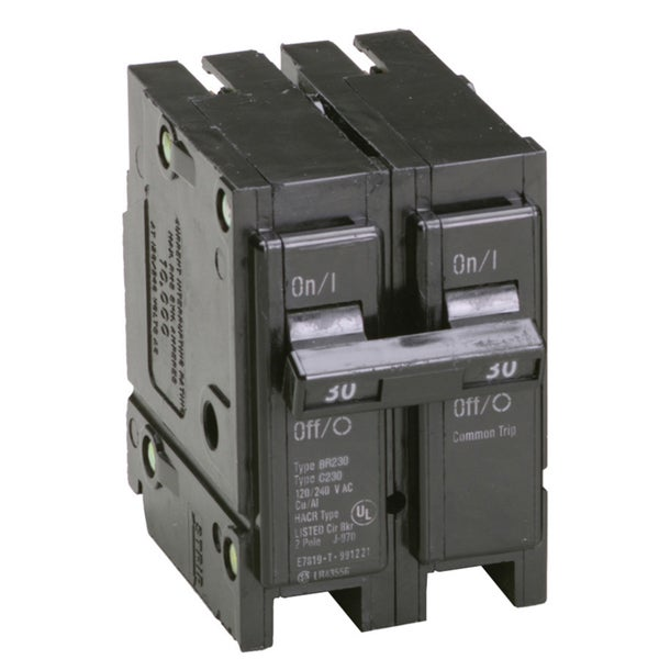 Eaton BR230 30 Amp Double Pole Circuit Breaker