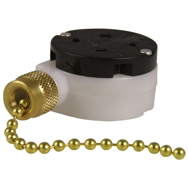 GB Gardner Bender GSW-34 Three Speed Pull Chain Switch