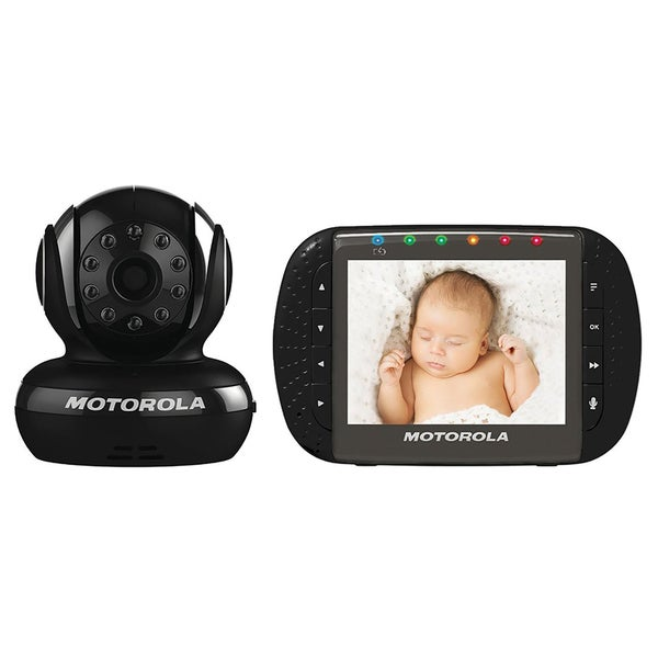 Motorola MBP43 Black Digital Video Baby Monitor