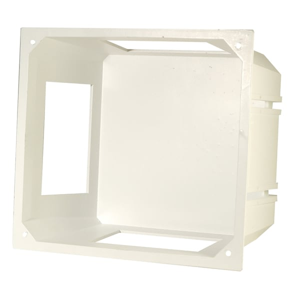 Leviton 001-47617-REB White Recessed Entertainment Box