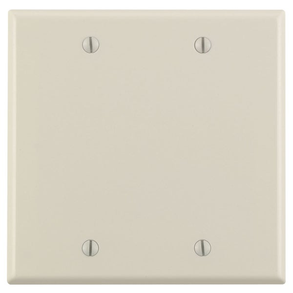 Leviton 000-78025-000 Light Almond 2 Gang Blank Wall Plate
