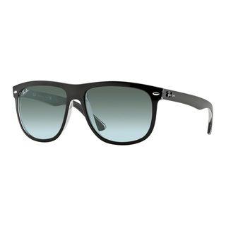 Ray-Ban Men's RB4147 603971 Black Plastic Square Sunglasses