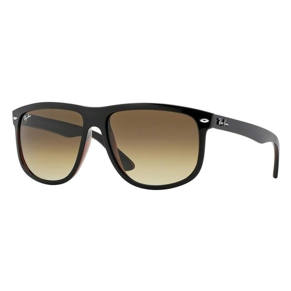 Ray-Ban Men's RB4147 609585 Black Plastic Square Sunglasses
