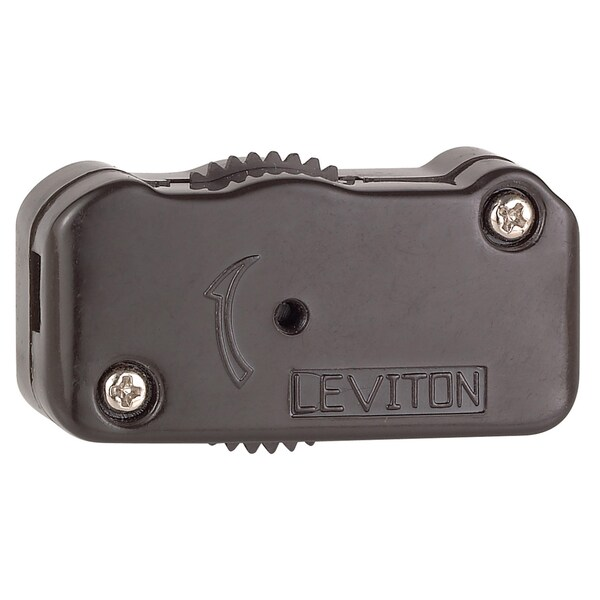 Leviton C20-01420-000 Brown 200 Watt 3-Way Cord Switch