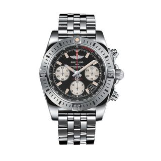 Breitling Men's AB01442J-BD26 'Chronomat 41 Airborne' Chronograph Automatic Stainless Steel Watch