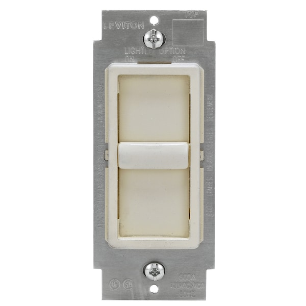 Leviton C28-06672-1LT Light Almond Sureslide Dimmer