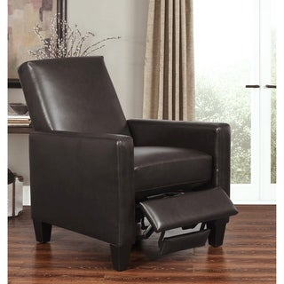 ABBYSON LIVING Mila Pushback Bonded Leather Recliner