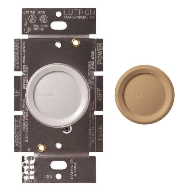 Lutron FS-5FH-DK Rotary On/Off Fan-Speed Controls