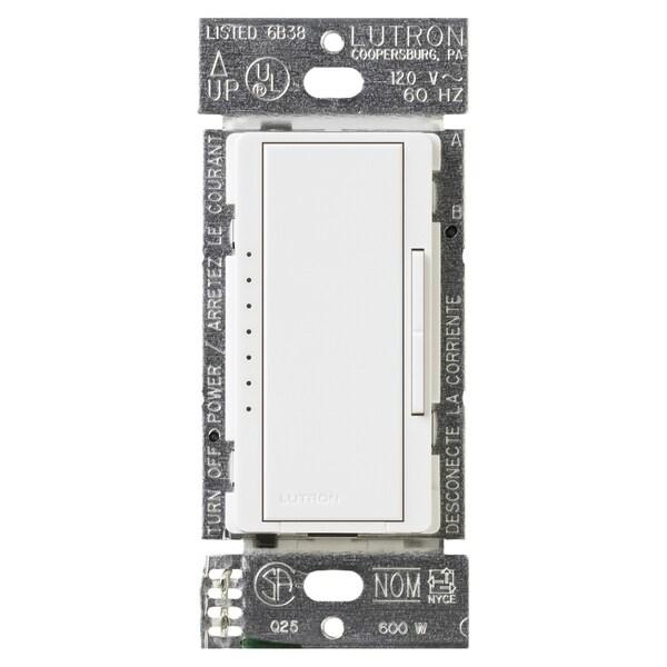 Lutron MA-600GH-WH Eco-Dim White Maestro Dimmer