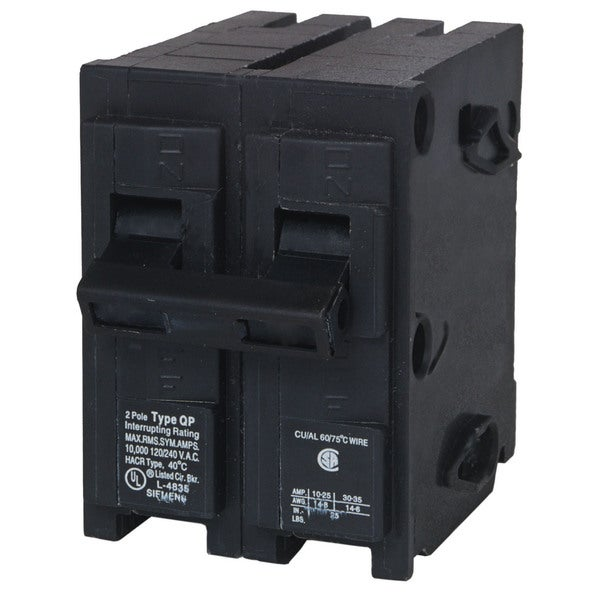 Siemens Q240 40 Amp Dual Pole Circuit Breaker