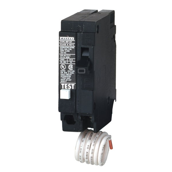 Murray MP115GFP 15A 1P GFCI Circuit Breaker