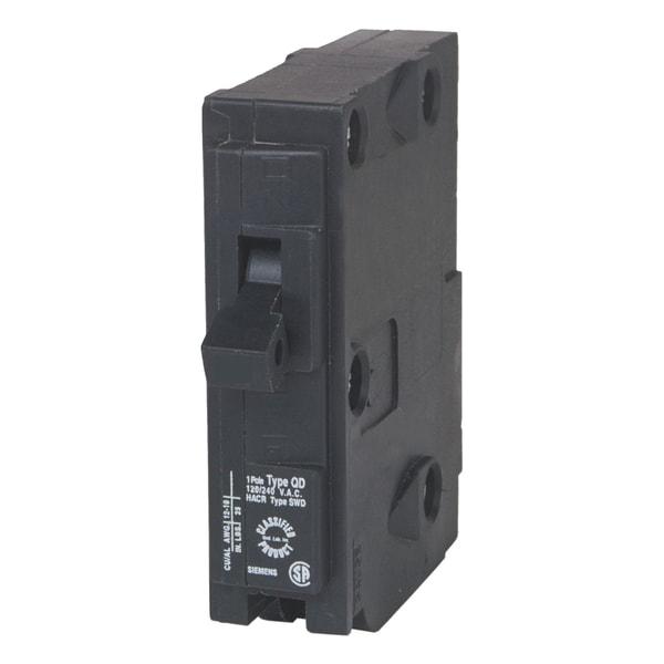 "Siemens D120 20 Amp 1 Pole 3/4"" Panelboard Circuit Breaker"