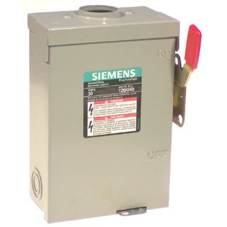 Siemens LF211NRU Outdoor Safety Switch