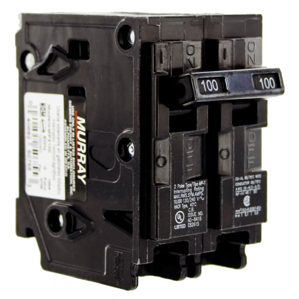 Siemens MP2100 100 Amp Double Pole Circuit Breaker