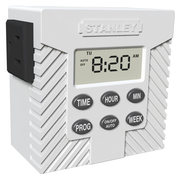 Stanley 31200 Single Outlet Weekly Digital Timer