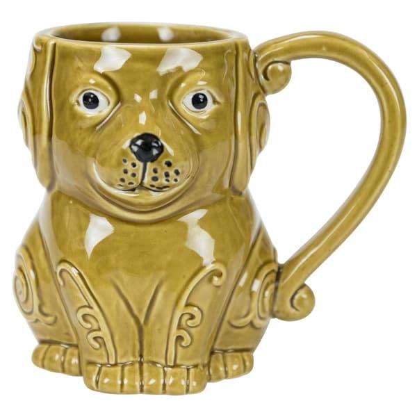 Dog Stoneware 16-ounce Mug