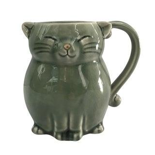 Cat Stoneware 16-ounce Mug
