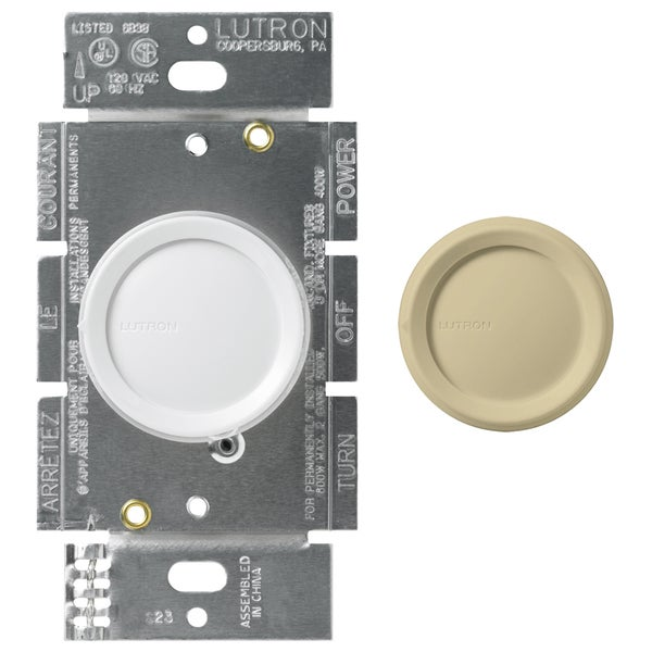 Lutron DNG-603PH-DK 3-Way Dimmer With Night Light 2-count