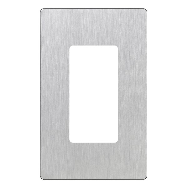 Lutron CW-1-SS 1-Gang Stainless Steel Wall Plate
