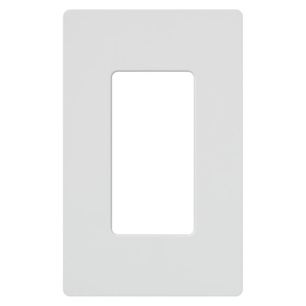 Lutron CW-1-WH 1-Gang White Wall Plate