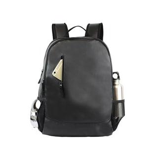 Goodhope Elite Black Polyester Lightweight 15-inch Laptop Backpack