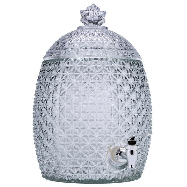 Euro-Ware Mini-Pineapple Glass 7 Liter Dispenser