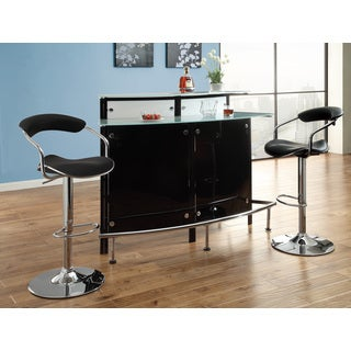 Modern Black Bar Table