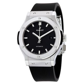 Hublot Men's 542.NX.1171.RX 'Classic Fusion Racing' Automatic Black Rubber Watch