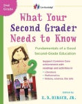 What Your Second Grader Needs to Know: Fundamentals of a Good Second Grade Education (Paperback)