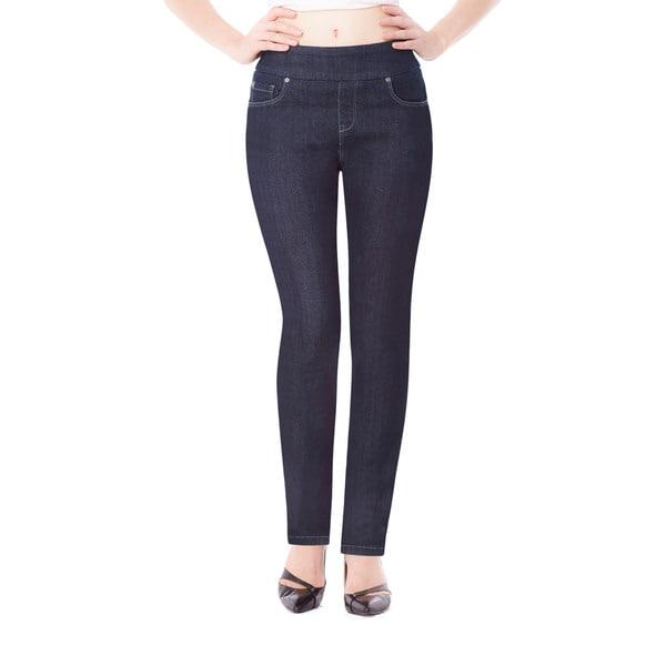 Bluberry Women's Blue Slim-leg Denim Jeans