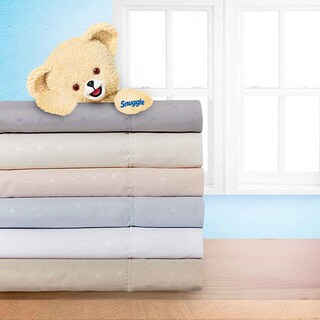 Snuggle Square Embossed Sheet Set With Deep Pockets