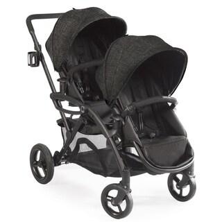Contours Options Elite Black Carbon Tandem Stroller