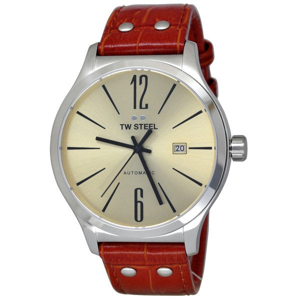 TW Steel Men's TWA1311 Slim Line Sunray Silver Watch
