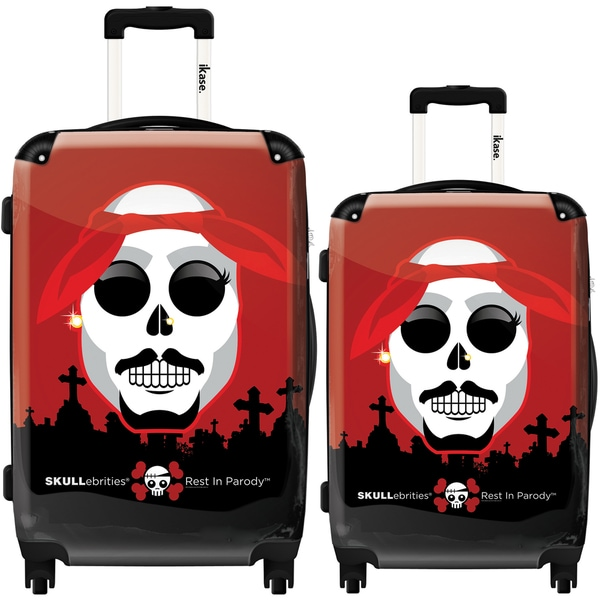 iKase 'Caput Rest in Parody' 2-piece Fashion Harside Spinner Luggage Set