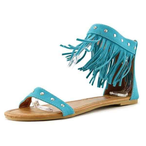 Penny Loves Kenny Women's 'Totem' Regular Suede Sandals