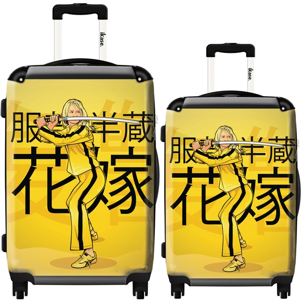 iKase 'The Bride Kill Bill' 2-piece Fashion Harside Spinner Luggage Set