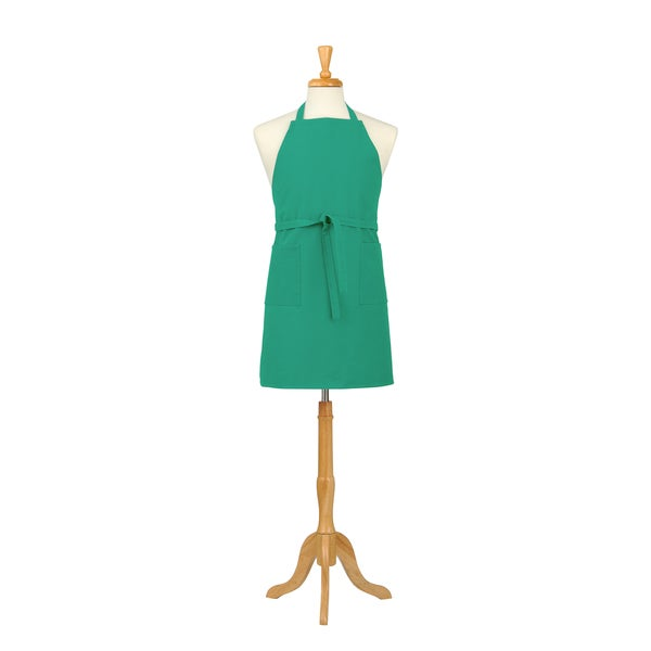 Mint Green Canvas Bib Apron