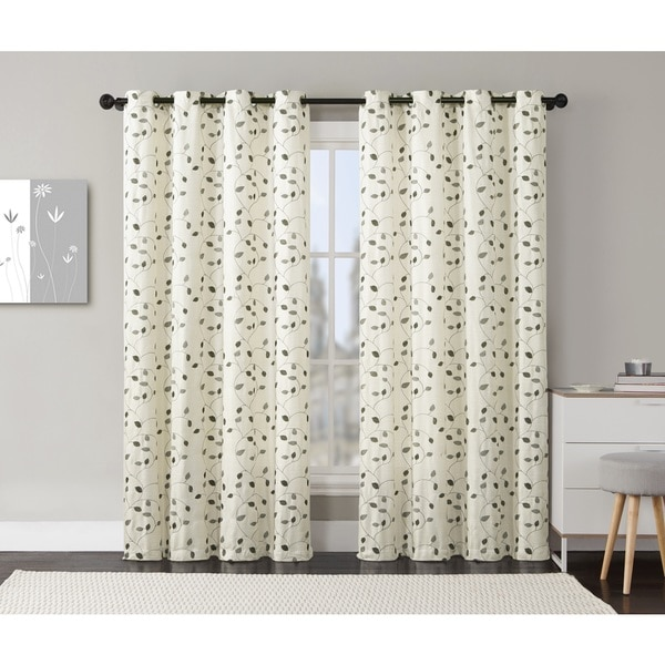 VCNY Lily Curtain Panel Pair