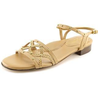 Eric Javits New York Women's 'Missy' Tan Leather Sandals